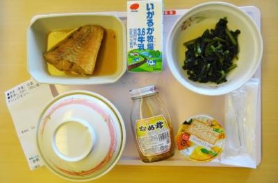 8月15日の昼食