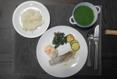 鯛のオリーブソテー ワンプレートディナー