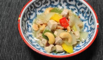 鶏のカシューナッツ炒め小鉢