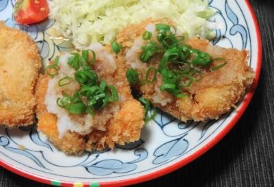 鶏胸肉の和風カツ