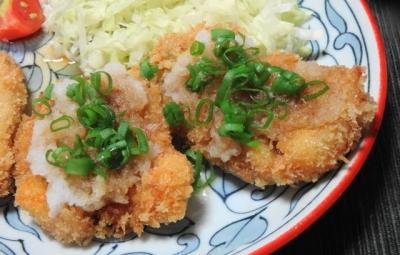 鶏胸肉の和風カツレツ