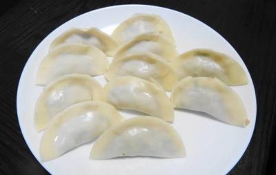 鶏・海老ミンチ・大葉巻き餃子
