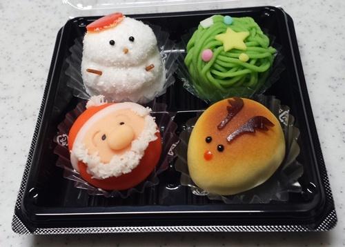 クリスマスの和菓子