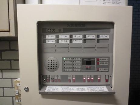 自動火災報知設備受信盤
