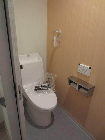 調布ファミリー2階のトイレ