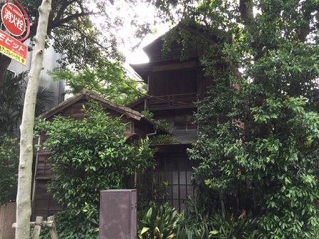 TBS前築古邸