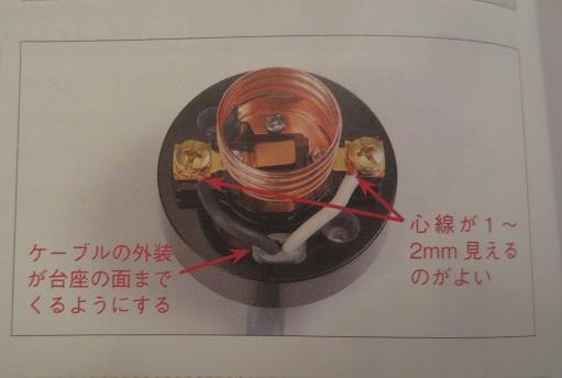 電気工事士ランプレセプタプル