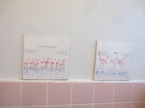 サンタハウス浴室アート