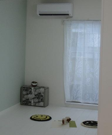 立川新築避難はしご箱カーテン