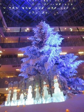 日本ポストクリスマスツリー