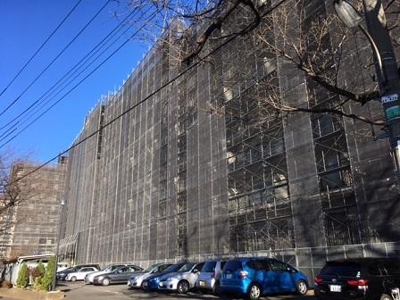 隣のマンション大規模修繕