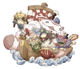 キグルミ【船】_ラフ03