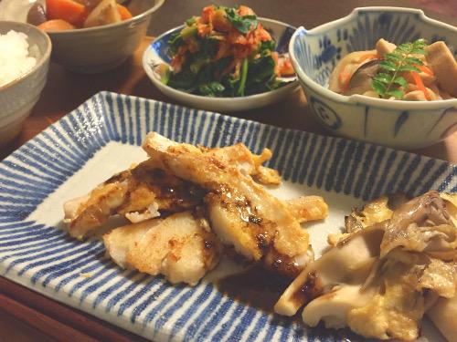 Apr13_タラのバルサミコ酢風味
