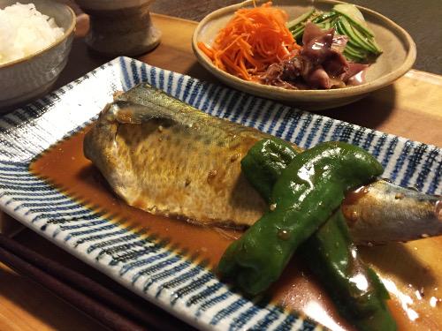May30_鯖の味噌煮