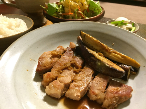 Jun07_豚の生姜焼き