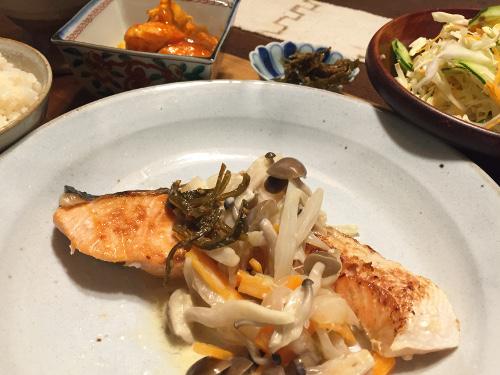 Jun13_サーモンと野菜のソテー