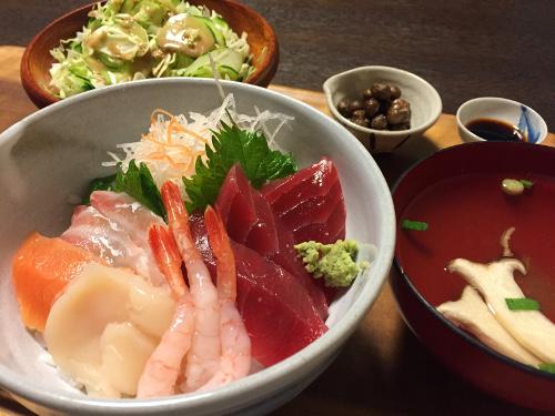 Jun16_お刺身丼