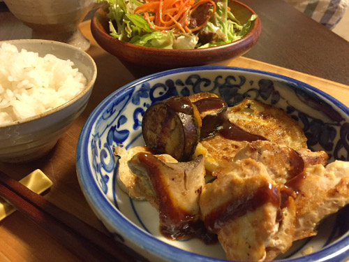 Jun21_お肉と野菜の衣揚げ