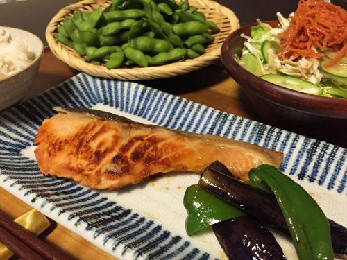 Jun27_鮭の粕漬焼き