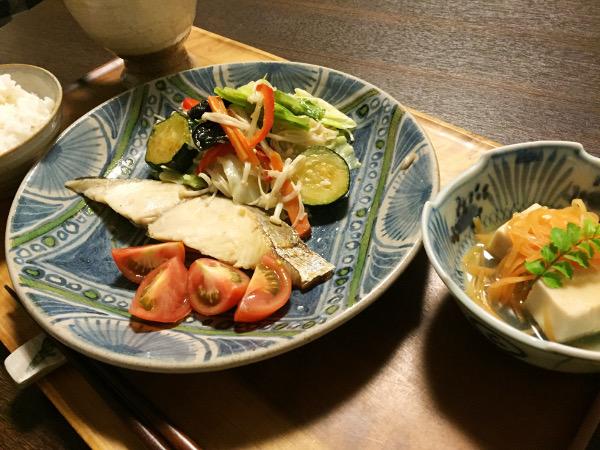 Jly27_さわらと野菜蒸し