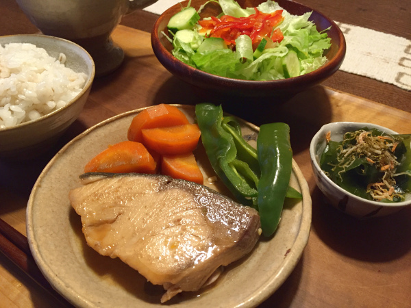 Aug08_ぶり煮