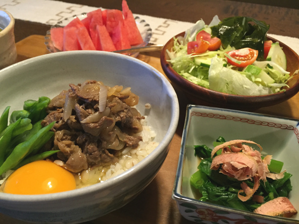 Aug09_牛丼