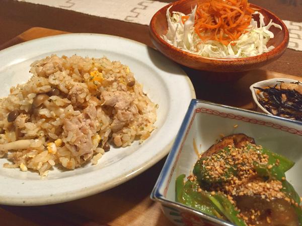 Aug31_肉炒飯