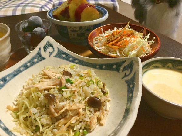 Sep08_鶏ささみの炒飯