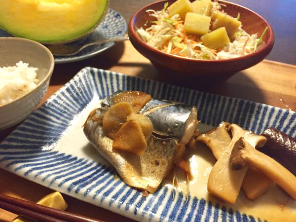 Sep12_鯖の生姜煮