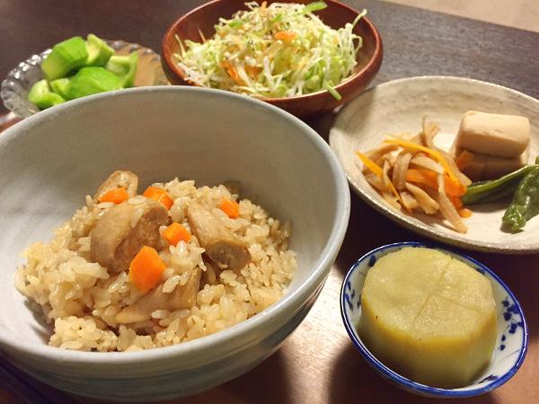 Sep14_鶏の炊込ご飯
