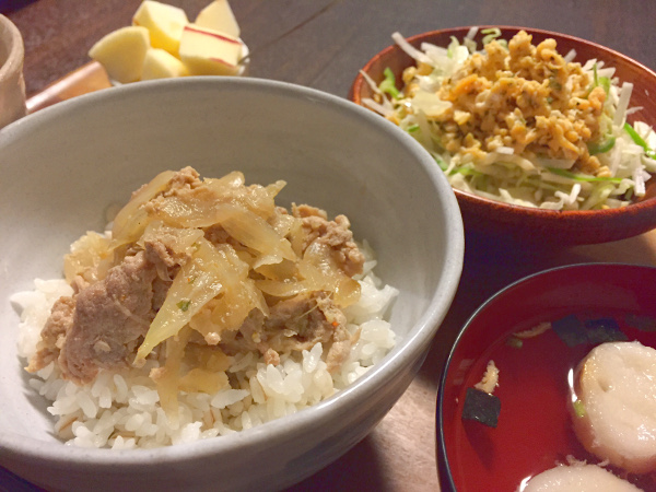 Sep21_豚丼