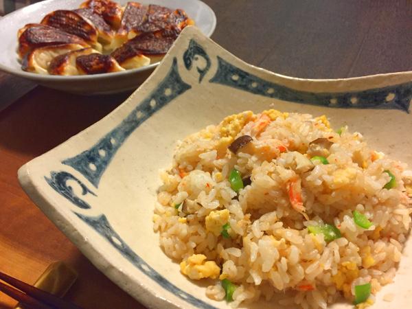 Sep22_カニ炒飯