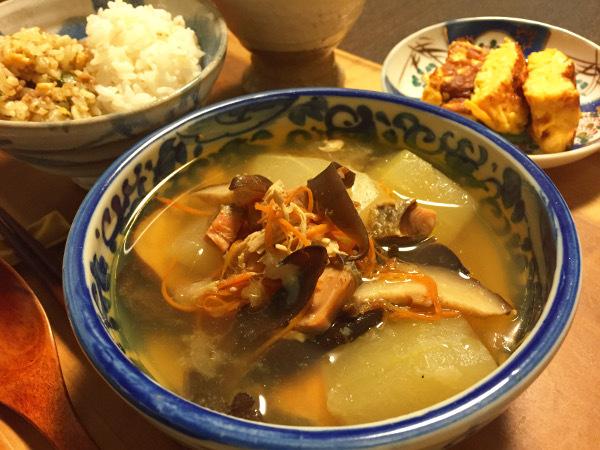 Oct10_冬瓜の薬膳スープ
