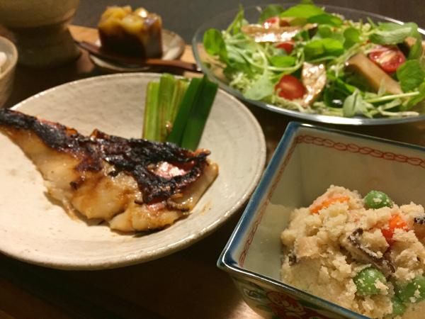 Oct17_赤鯛の西京漬け
