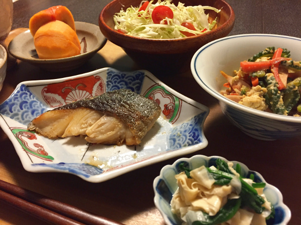 Oct24_銀鱈の粕漬け