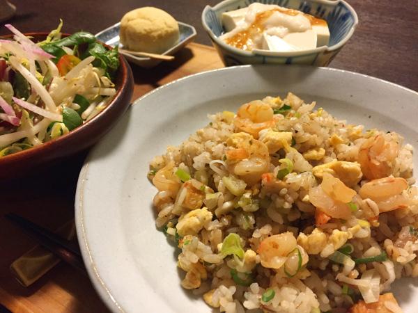 Dec13_エビ炒飯