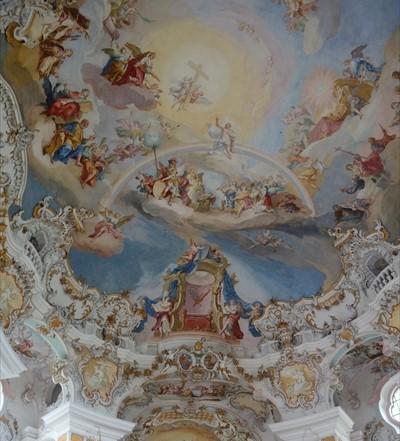 ヴィース巡礼教会の天井_R