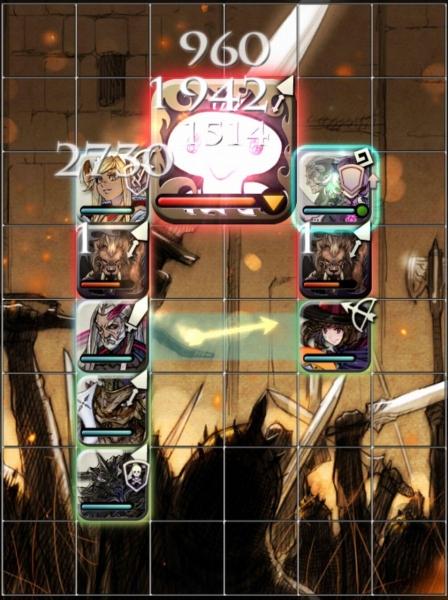 [逆襲降臨] ニードアラ・キノ戦 1