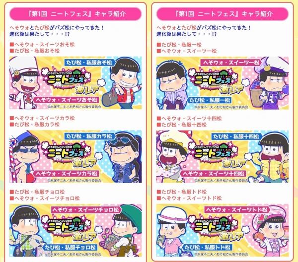 ニートフェスキャラ紹介