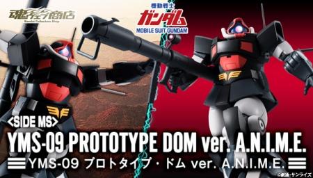 ROBOT魂 〈SIDE MS〉 YMS-09 プロトタイプ・ドム ver. A.N.I.M.E.b