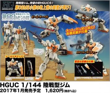 HGUC 陸戦型ジムの商品説明画像