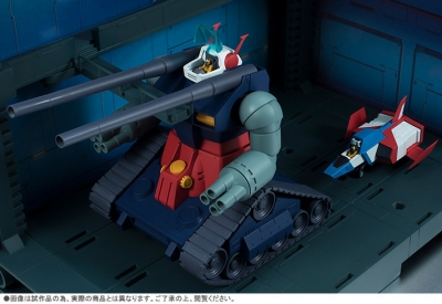 ROBOT魂 〈SIDE MS〉 RX-75-4 ガンタンク & ホワイトベースデッキ ver. A.N.I.M.E. 002