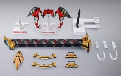 METAL BUILD パワードレッド&150ガーベラ・ストレート[パワー]オプションセット15