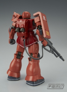 HG MS-05S シャア専用ザクI (2)