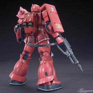 HG MS-05S シャア専用ザクI 07