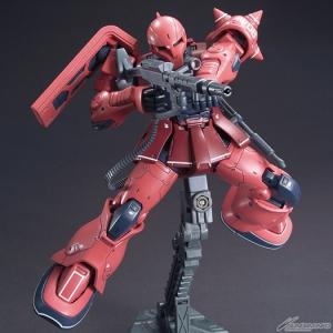 HG MS-05S シャア専用ザクI 04