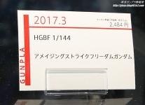 HGBF アメイジングストライクフリーダムガンダム ガンプラEXPO ワールドツアージャパン 2016 WINTER09