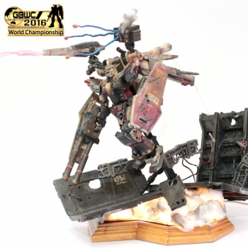 GUNPLA BUILDERS WORLD CUP 2016 Finalist (2)