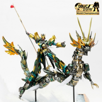 GUNPLA BUILDERS WORLD CUP 2016 Finalist (5)