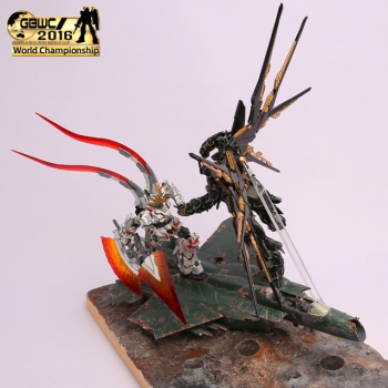 GUNPLA BUILDERS WORLD CUP 2016 Finalist (6)